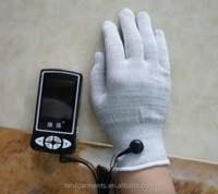 Home Medical Use Wearable Conductive Tens Massage Energy Gloves