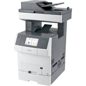 Lexmark X740 X748dte Laser Multifunction Printer . Color . Plain Paper Print . Desktop . Copier/Fax/Printer/Scanner . 35 Ppm Mono/35 Ppm Color Print . 2400 X 1200 Dpi Print . 35 Cpm Mono/35 Cpm Color Copy . Touchscreen . 600 Dpi Optical Scan . Automatic Duplex Print . 1200 Sheets Input . Gigabit