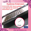 0.05/0.07/0.10/0.15mm I Curl Eyebrow Extension, Chrismas Party Eyebrow Extension
