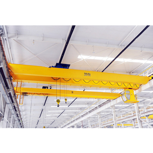 warehouse material stocks used electric crane
