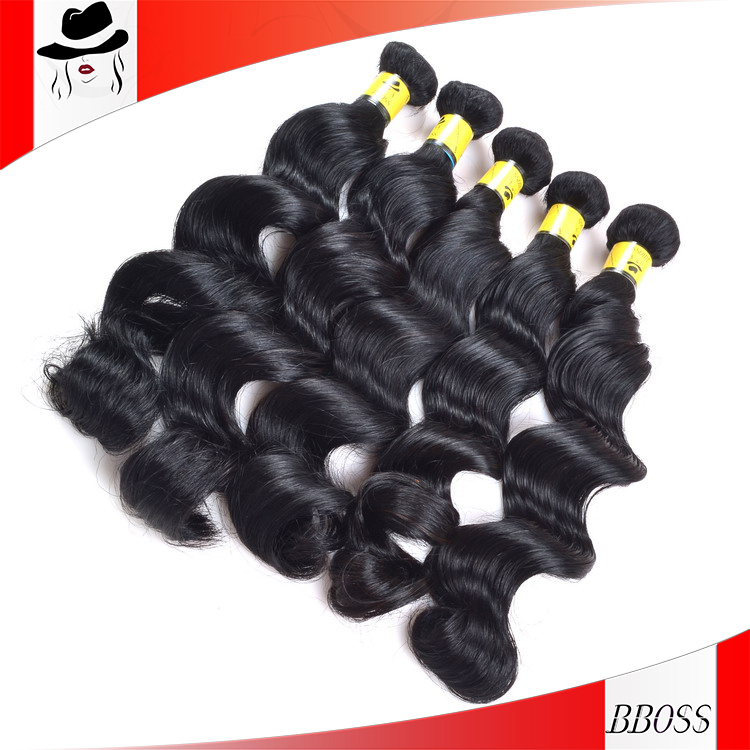 "BS best price virgin brazilian Yaky hair Extension Weave 10"""" 14""16''18"""