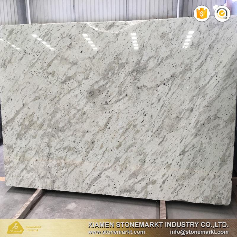 Stonemarkt River White Granite Slab For Kitchen Countertops - Buy River  White Granite,River White Granite Price,New River White Granite Slab  Product