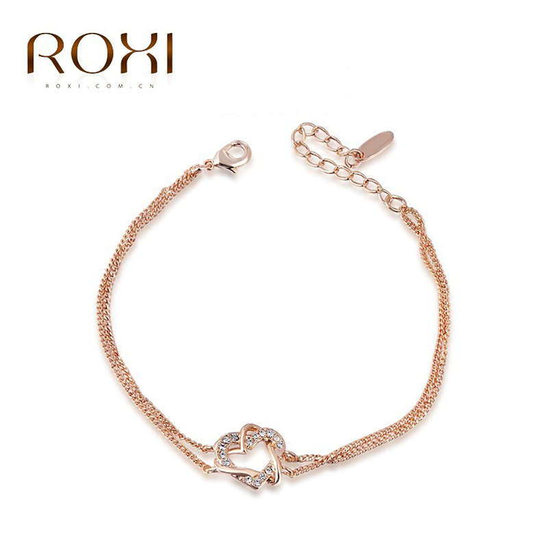 Aliexpress.com : Buy ROXI 18k gold/white gold plated heart ...