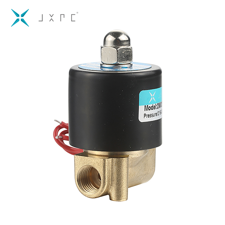 12 Volt Water Air Solenoid Valve Normally Closed , 12V Electric Water Valve