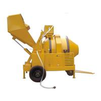 Construction Equipments Types Mobile Concrete Mixer