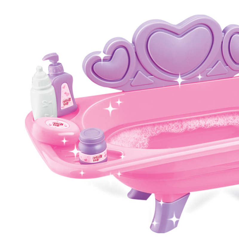 Sweet baby toys bath tub set with sound