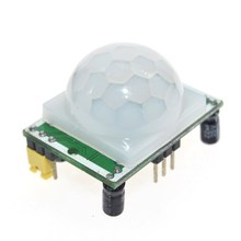 2018 new HC - SR501 Adjust Infrared IR Pyroelectric Infrared PIR module Motion Sensor Detector Module Green for Arduino uno r3