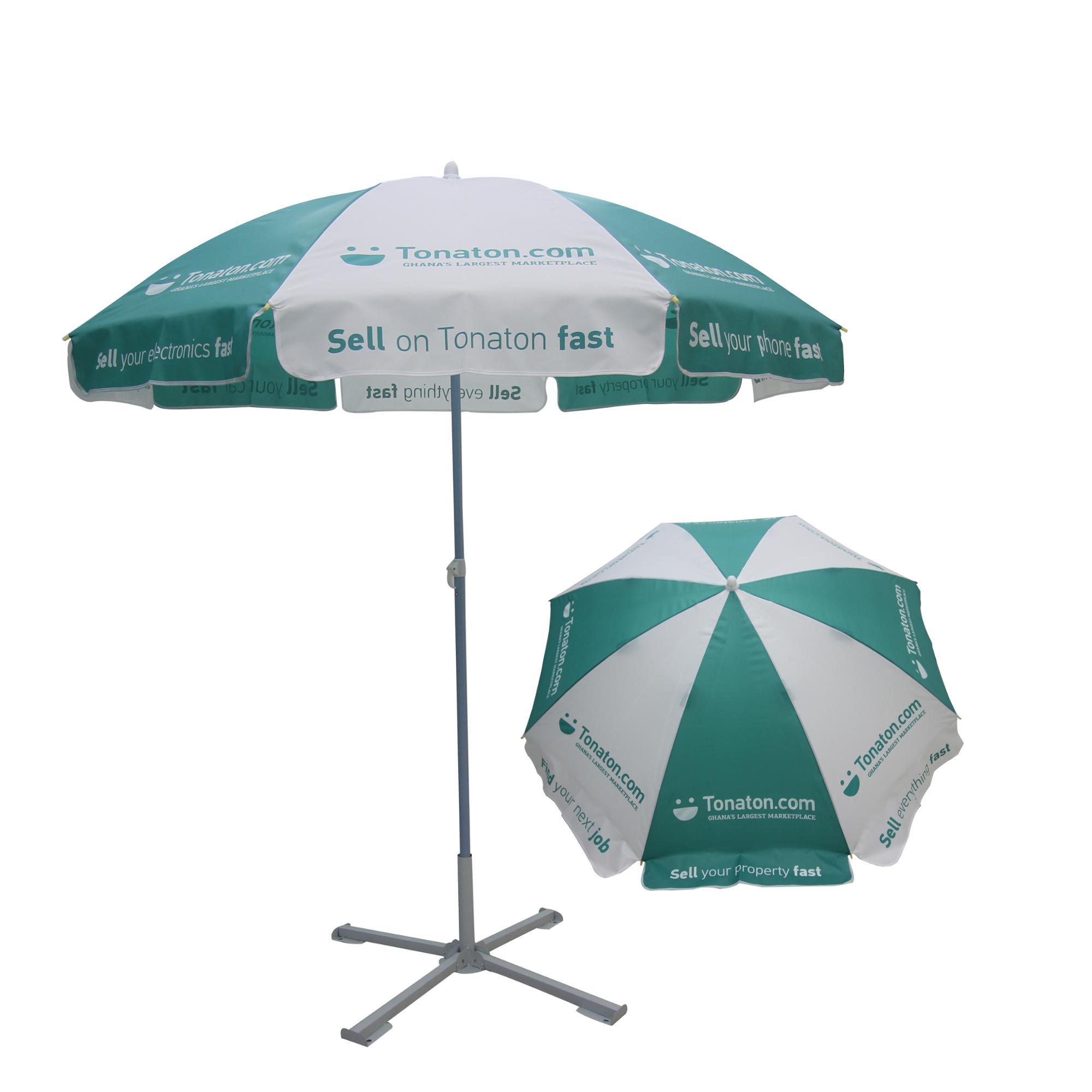 Oxford Fabric Windproof High Quality Beach Umbrella