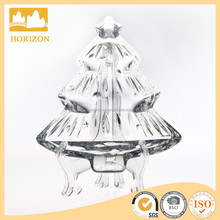 Hand Made Children Fancy Christmas Tree Shape Glassware Decor For Home Use Christmas Glass Ornaments