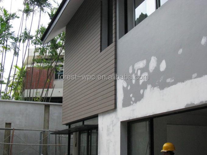 De pl stico de madera paneles de madera de la persiana paneles exteriores paneles de madera - Paneles madera exterior ...