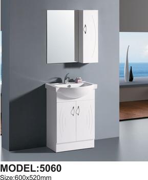 Modern Fancy Small White Bathroom