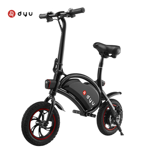 DYU D1 Folding portable car electric scooter without pedals with APP control