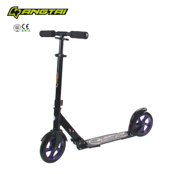 All Aluminum Wheel Foot Pedal Best Kick Scooter For S