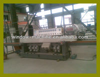 Glass mitre edge polish machine/China Glass edge grind polish machine