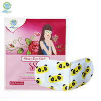 2020 new products lavender steam eye mask Warm Hot Spa Mask