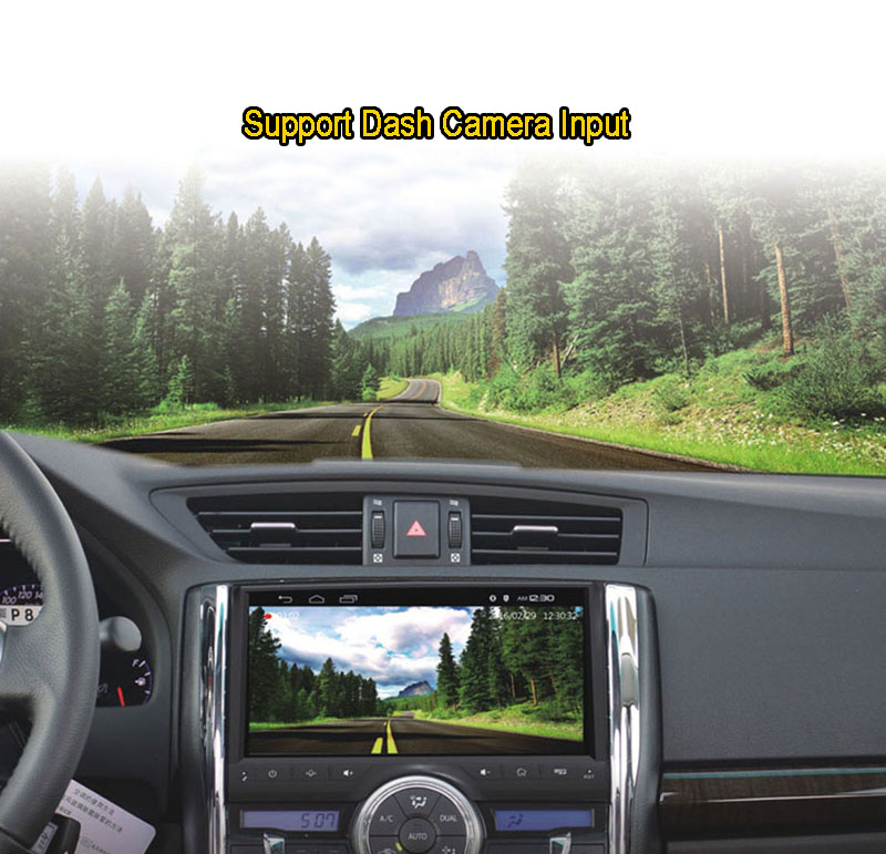 "9"" Android 7.1 Car DVD Player, Quad Core, GPS, Radio, Bluetooth For Kia Sportage"