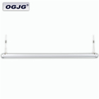 Classroom Mounting 50W Batten Light Suspended Linear Hanging Lamp Commercial Led Pendant Lighting