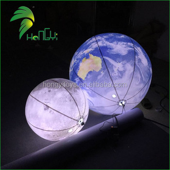 Hanging Nine Planets / Led Lighting Up Solar System Balls / Ceiling  Inflatable Moon Balloon Light - Buy Moon Balloon Light,Moon Balloon  Light,Moon