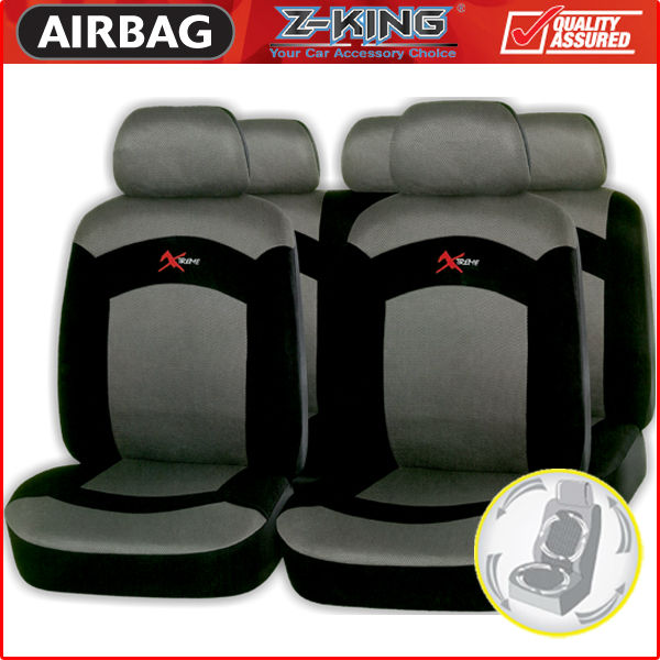 Cheap Car Seat Cover with black grey