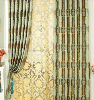 Curtains In Lahore Pakistanjacquard Blackout Fabric Used Hotel Drapes Flame Retardant Curtain