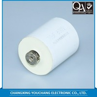 durable popular various type of metallized polypropylene film capacitors cbb62 with high quality