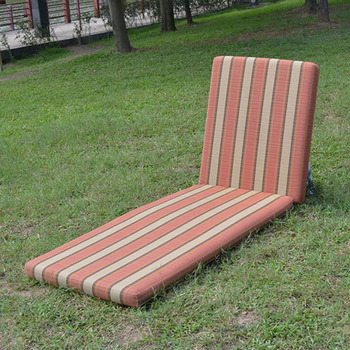 High Quality Striped Outdoor Furniture Cushions For Sunbed Buy