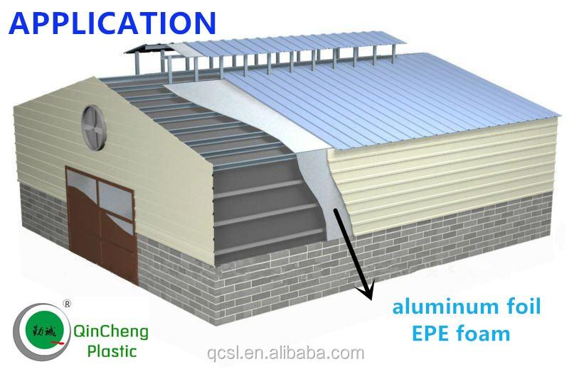 Reflectivity Aluminum Bubble Foil Insulation For Roof