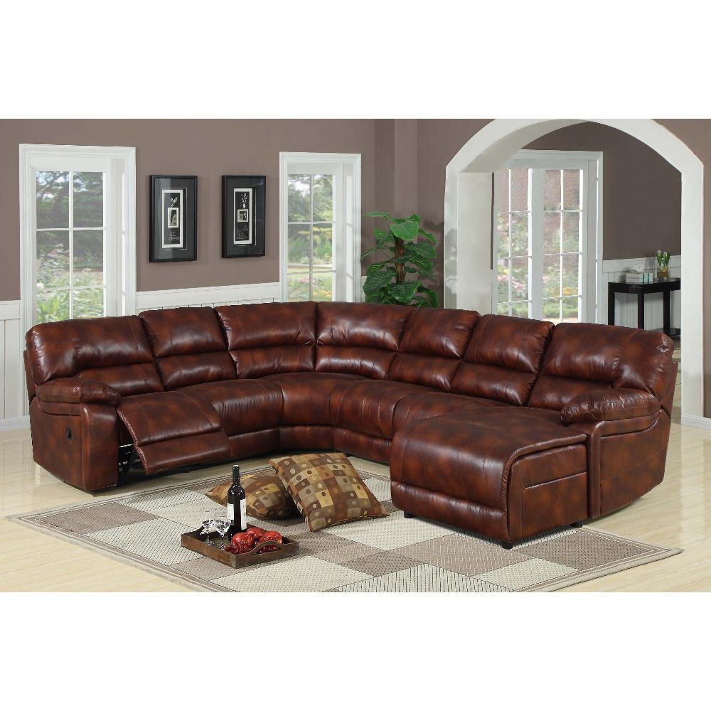 U Shape Leather Trend Sofa Sectional