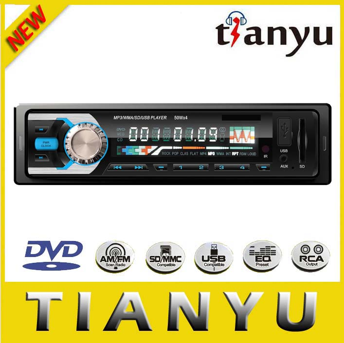 Universal Detachable One Din Car DVD Player