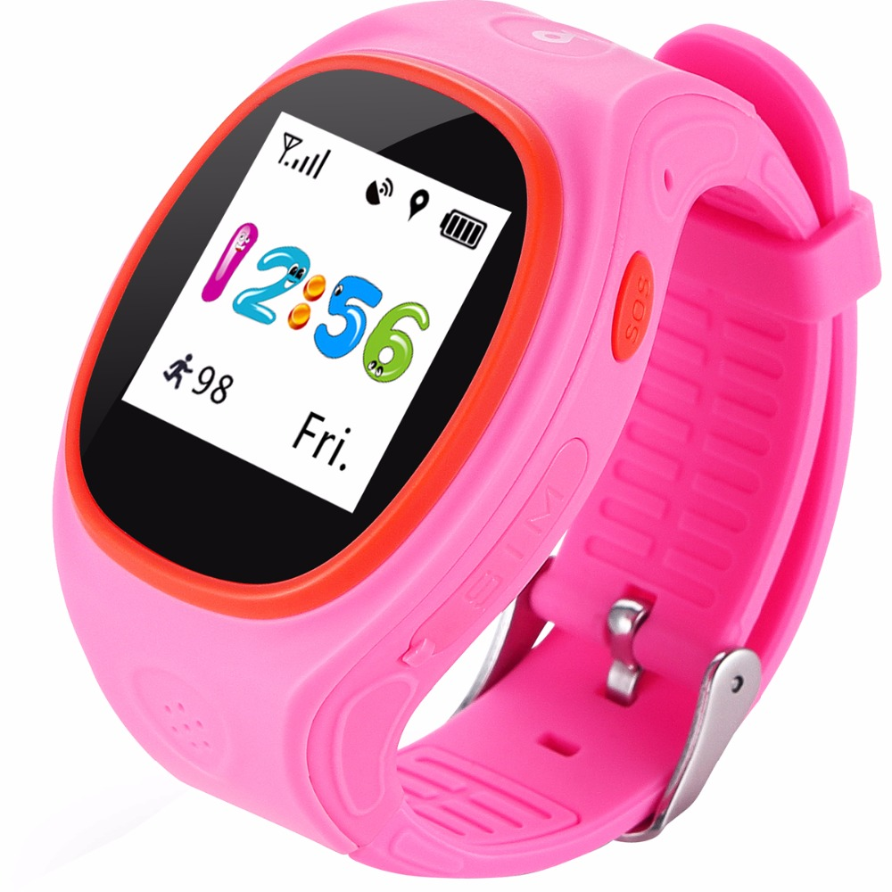 High Quality MTK2503 Watch GPS Kids Intelligent Children Tracking Device Smart Watch SOS For Children Baby Clock Gift