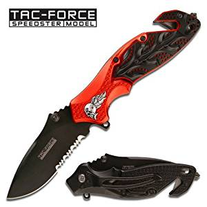 Tac Force TF-680RDB Assisted Opening Folding Knife 4.5-Inch Closed