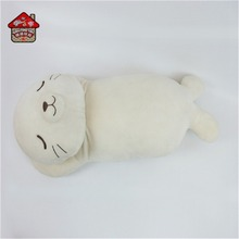 custom unstuffed plush seal/duck/frog/dog animal skins pillow for kid