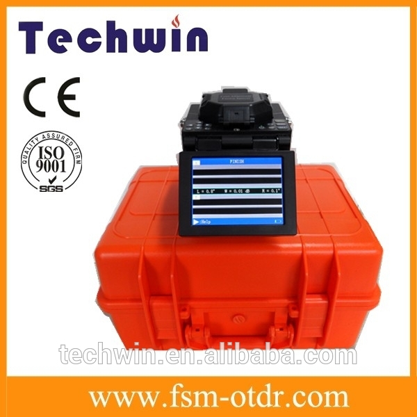 Techwin Optical Fiber Fusion Splicer with Kit