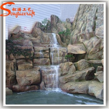 Chinese Wholesale Cheap Large Resin Outdoor Decorative Water Fountains  India Big Garden Waterfall For Sale Prices