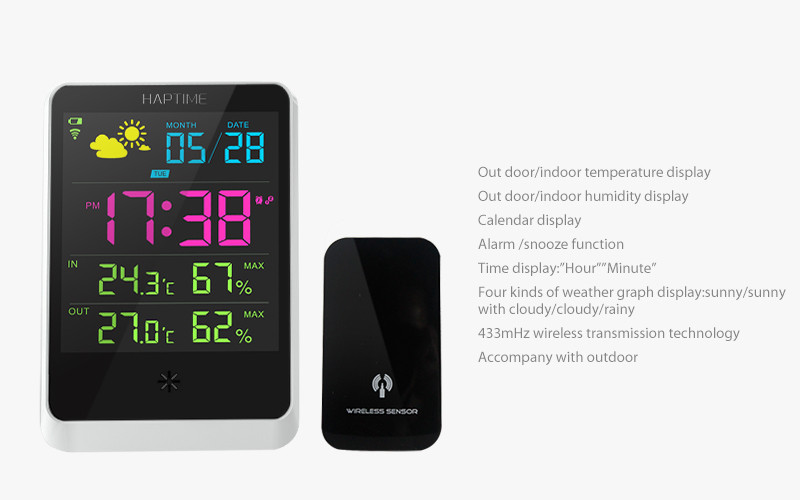 Super Weather Station,Digital Wireless Weather Station As A Good ...