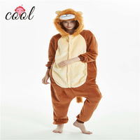 Hot-sale winter sleepwear adult animals onesie pajamas for women