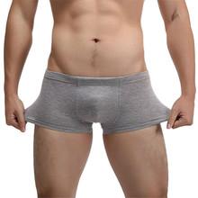 JECKSION Hot Fashion Sexy Cotton Men's Underwear,4Colors High Qualit Shorts Mens Comfortable Male Panties Underwear