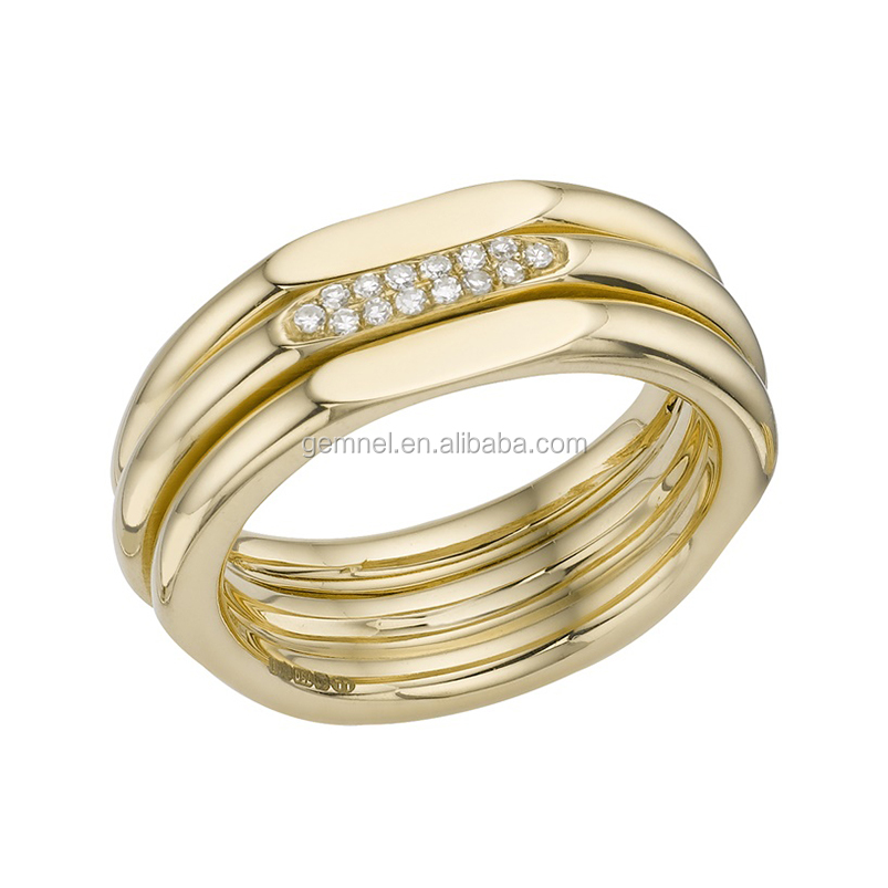Gemnel Jewelry best selling fashion wedding ring design your own for women