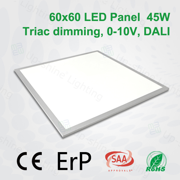 Best heat dissipation silver frame 2835 smd cri>80 fast delivery surface mounted 5000K plastic+aluminum slim led panel light