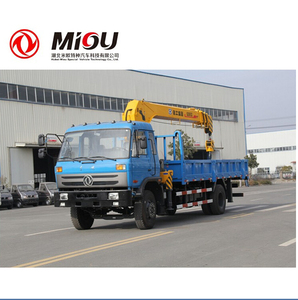 Dongfeng truck crane 4x2 Transportation of Drinking Water