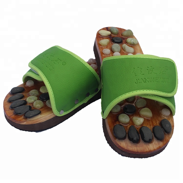 New style big foot massage with traditional Chinese medicine slipper sandals