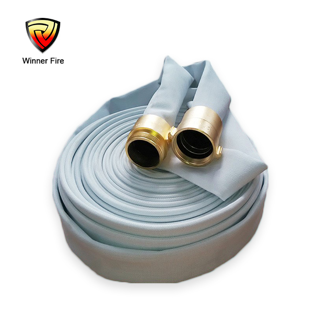 CE EN14540 Standard Flexible PVC Fire Hose with Polyester Jacket