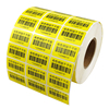 quality product packing label printing Matt/Glossy/Vinyl PVC/PET/PP barcode stickers