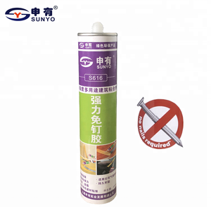 300ml nail free construction adhesive for building bond