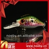 NOEBY fishing lure/ Floating 3D eyes long casting colorful crank bait