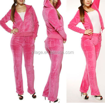 Terciopelo Chaqueta Chándal Zip Chicas Hoodie Salón Rosa Mujer r8Zqr
