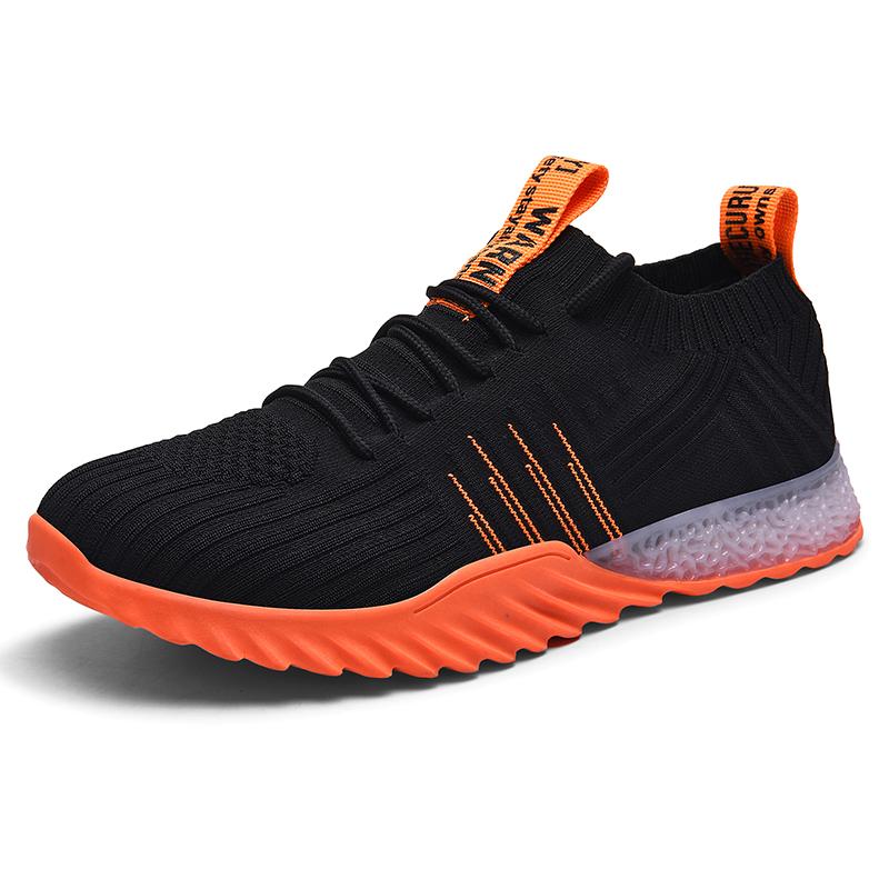 Kustom Sneaker Produsen Kain Rajut Sepatu Olahraga Pria Merek Sepatu Olahraga dan SNEAKER
