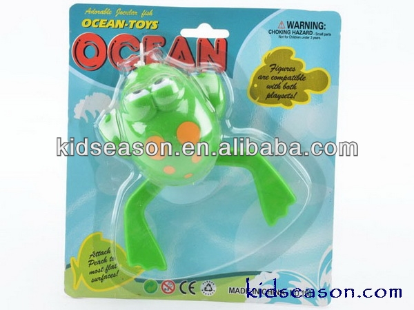 PULL LINE FROG SWIMMING BATHING TOYS
