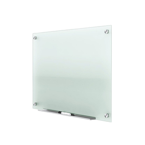Non-glare Frameless Tempered Glass Magnetic Dry Erase Board