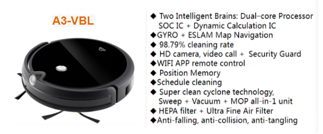 Smart Floor Surface Auto Vacuum Robot for Home cleaning  Use Robotic Vacuum Robot